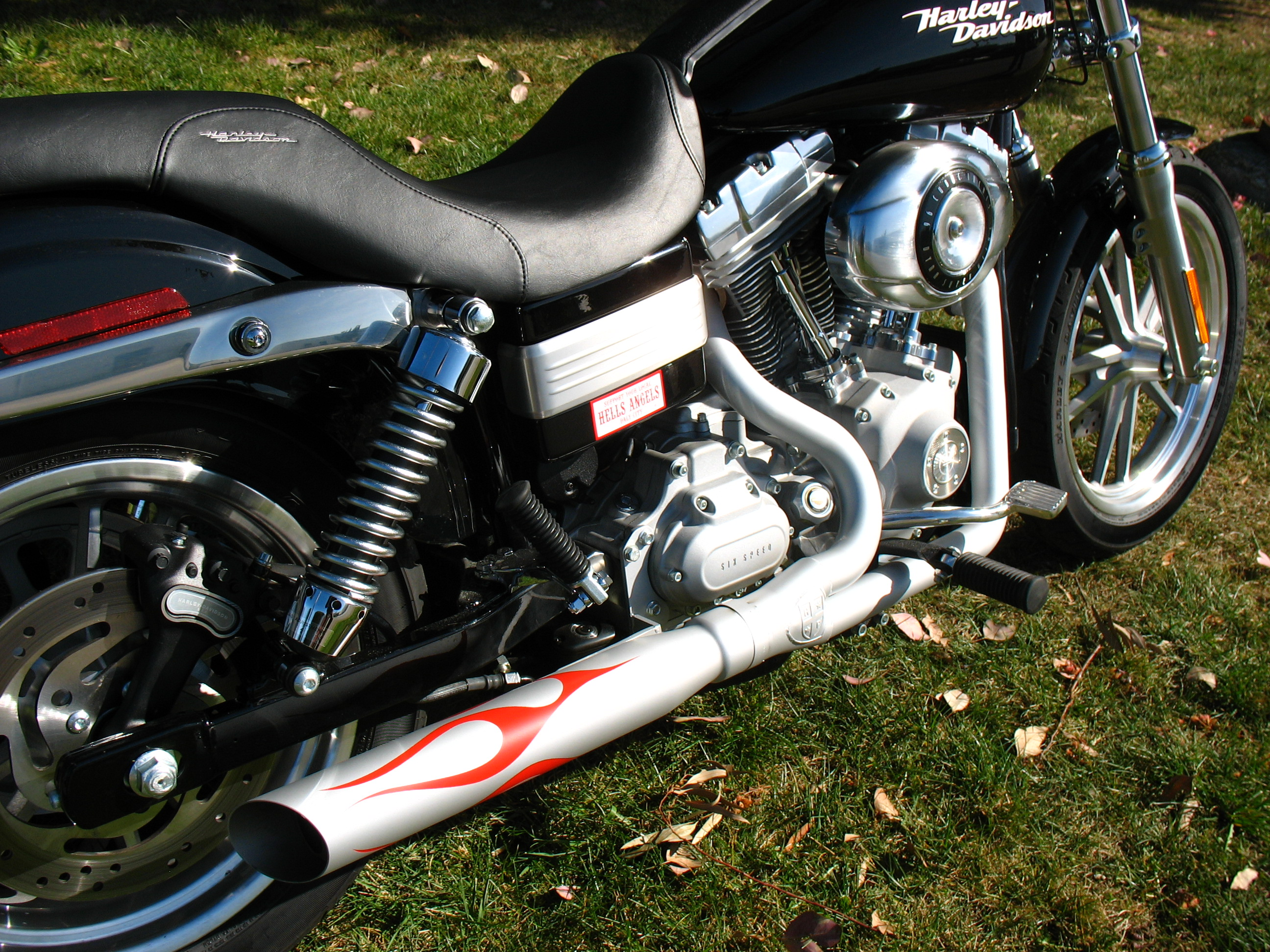 Harley Davidson at Other exhaust